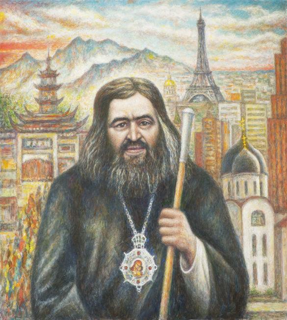 Святитель Иоанн Шанхайский /Холст, масло, 90Х100, 2017 г./