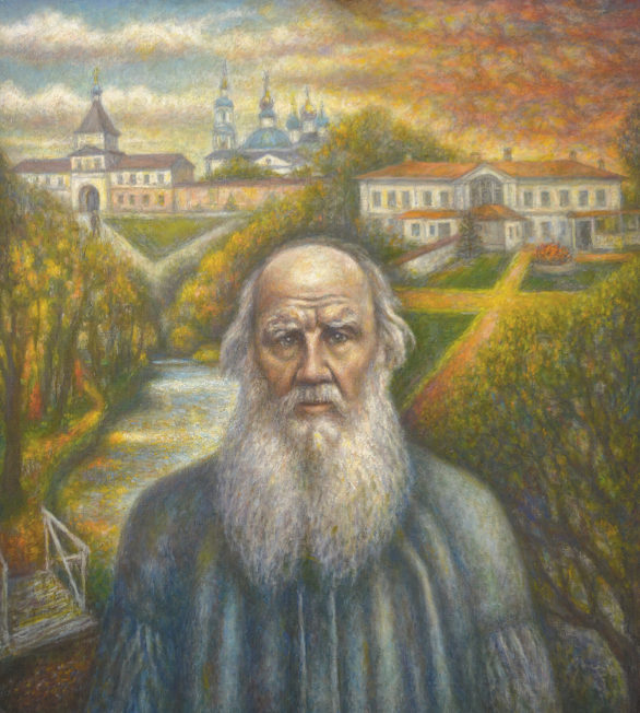 Л.Н. Толстой /Холст, масло, 80Х100. 2017 г./